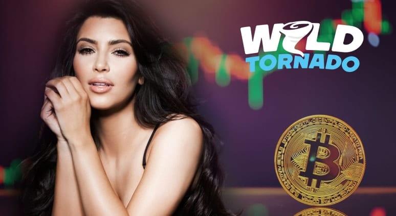 Kim Kardashian Gets a Tangible Bitcoin at the Poker Table