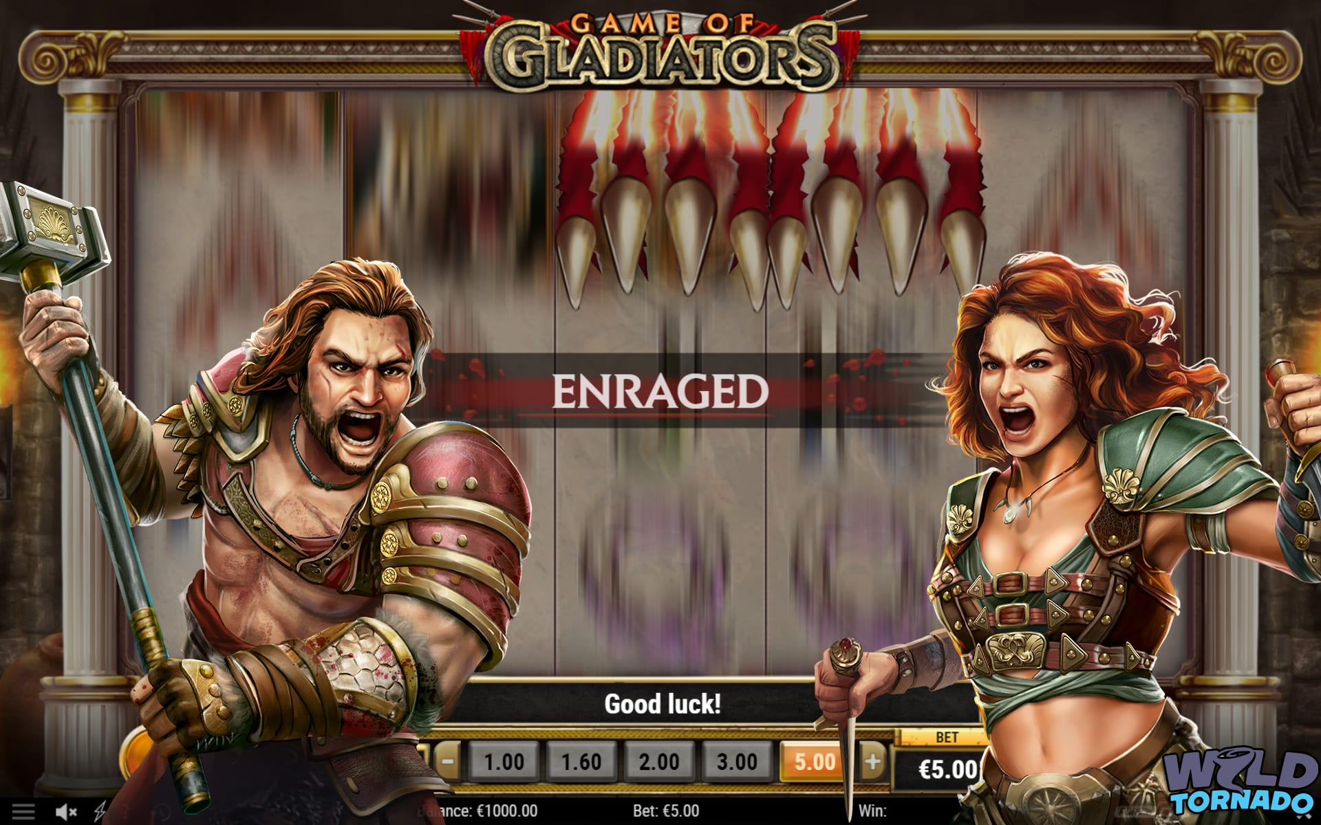 Game Of Gladiators Slot By Play'N Go Is Spectacular