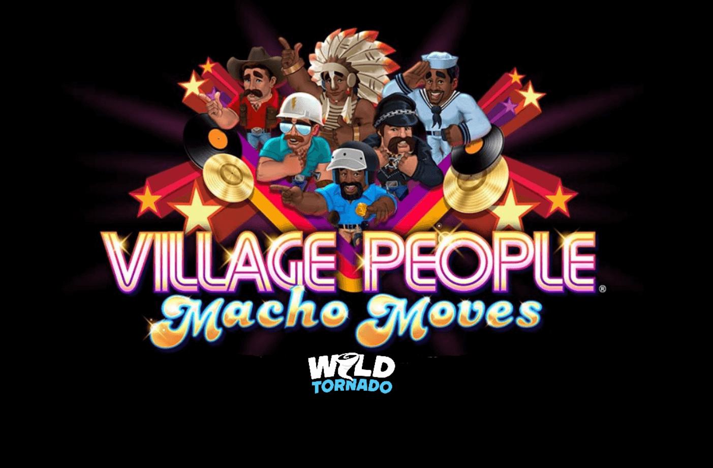 Village People Macho Moves Slot - Disco Reels Catch Fire