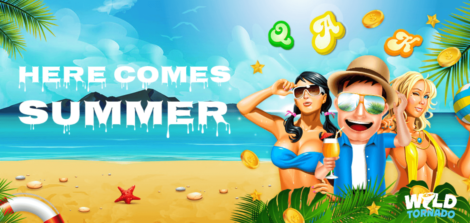 Here Comes Summer Makes For An Ideal Slots Summer Treat